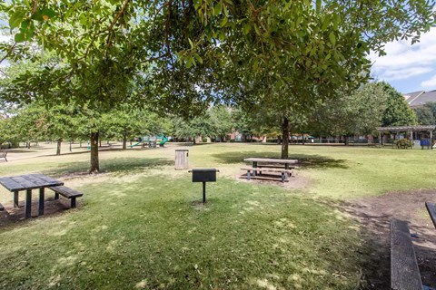 The Lincoln at Towne Square Apartments in Plano, TX Picnic Area