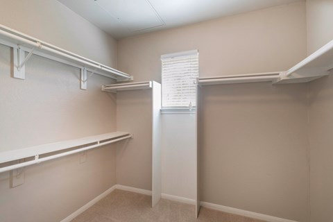 The Lincoln at Towne Square Apartments in Plano, TX Walk-in Closets