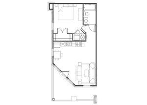One Bedroom/ One Bathroom