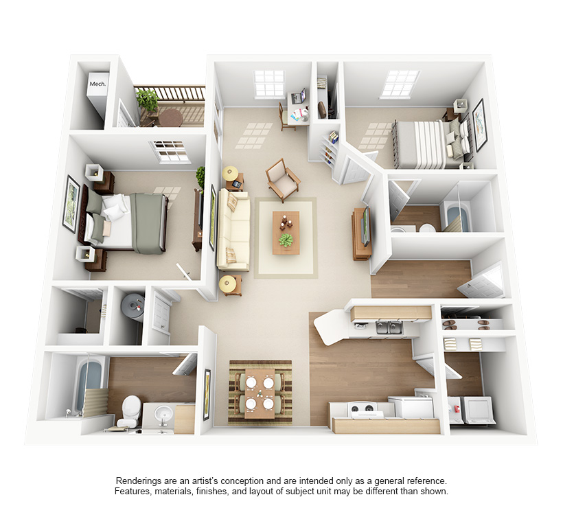 Superieur 2 Bed 2 Bath
