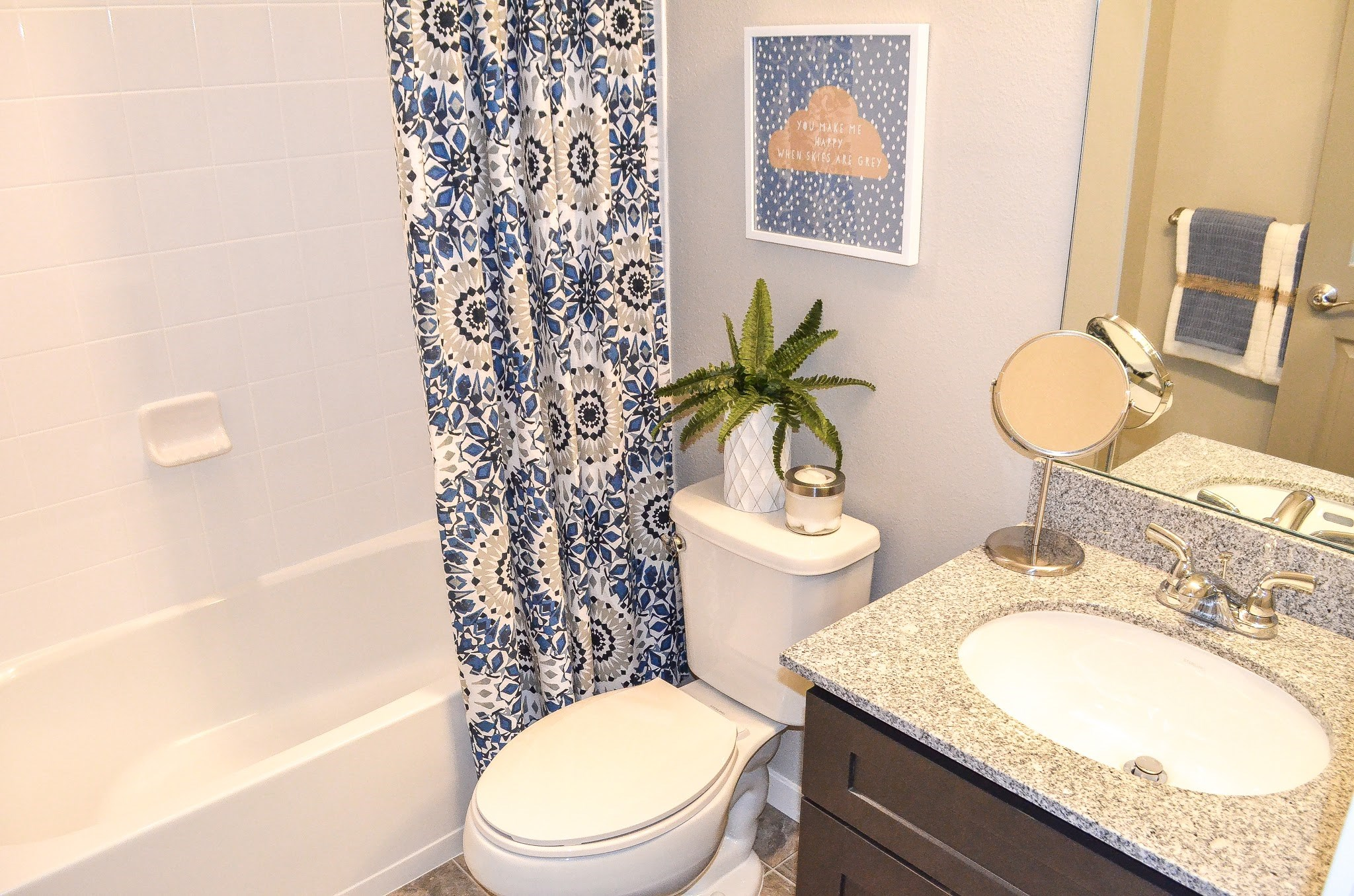 Bathroom at Black Feather Apartments in Castle Rock, CO