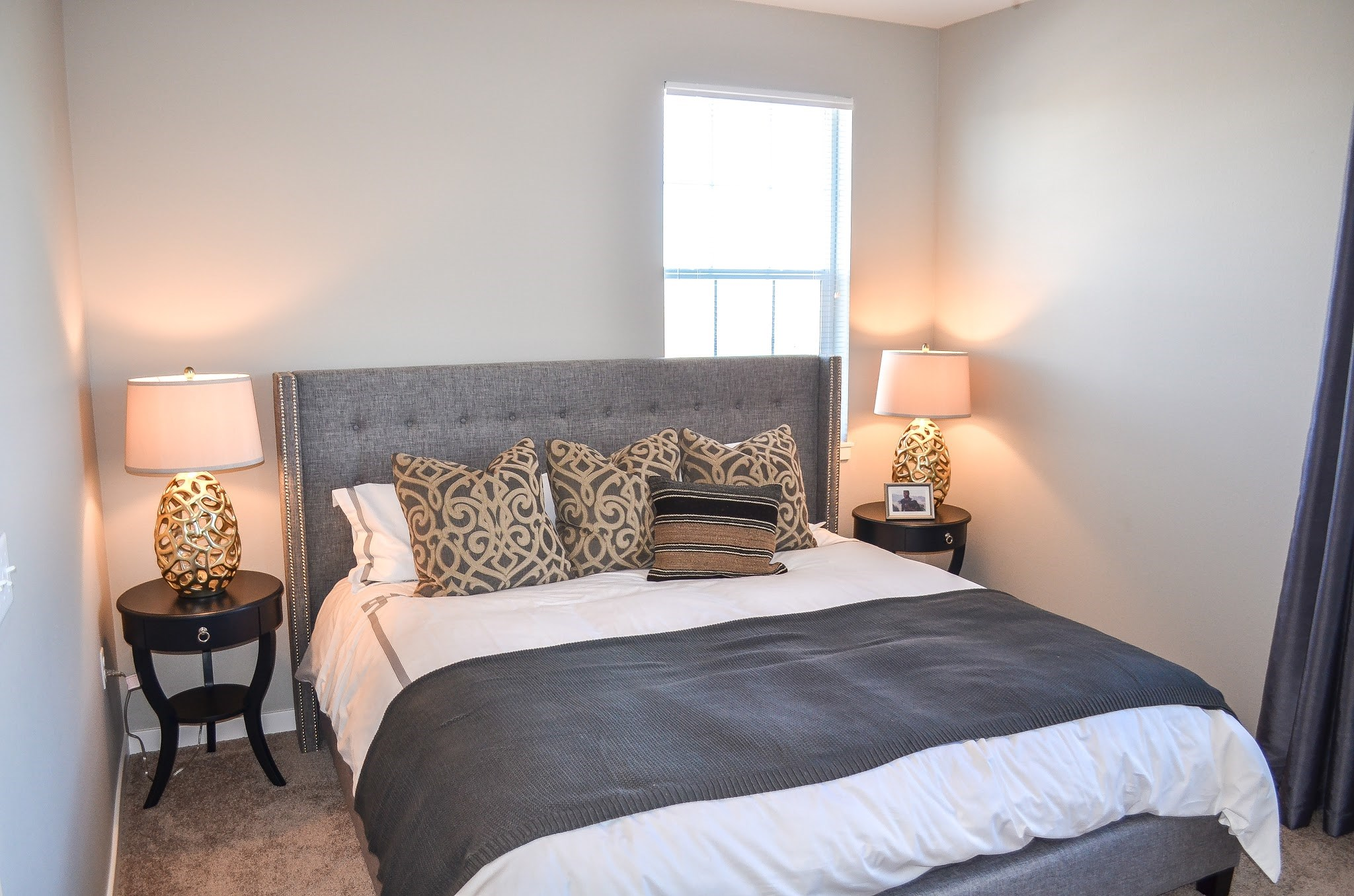 Bedroom at Black Feather Apartments in Castle Rock, CO