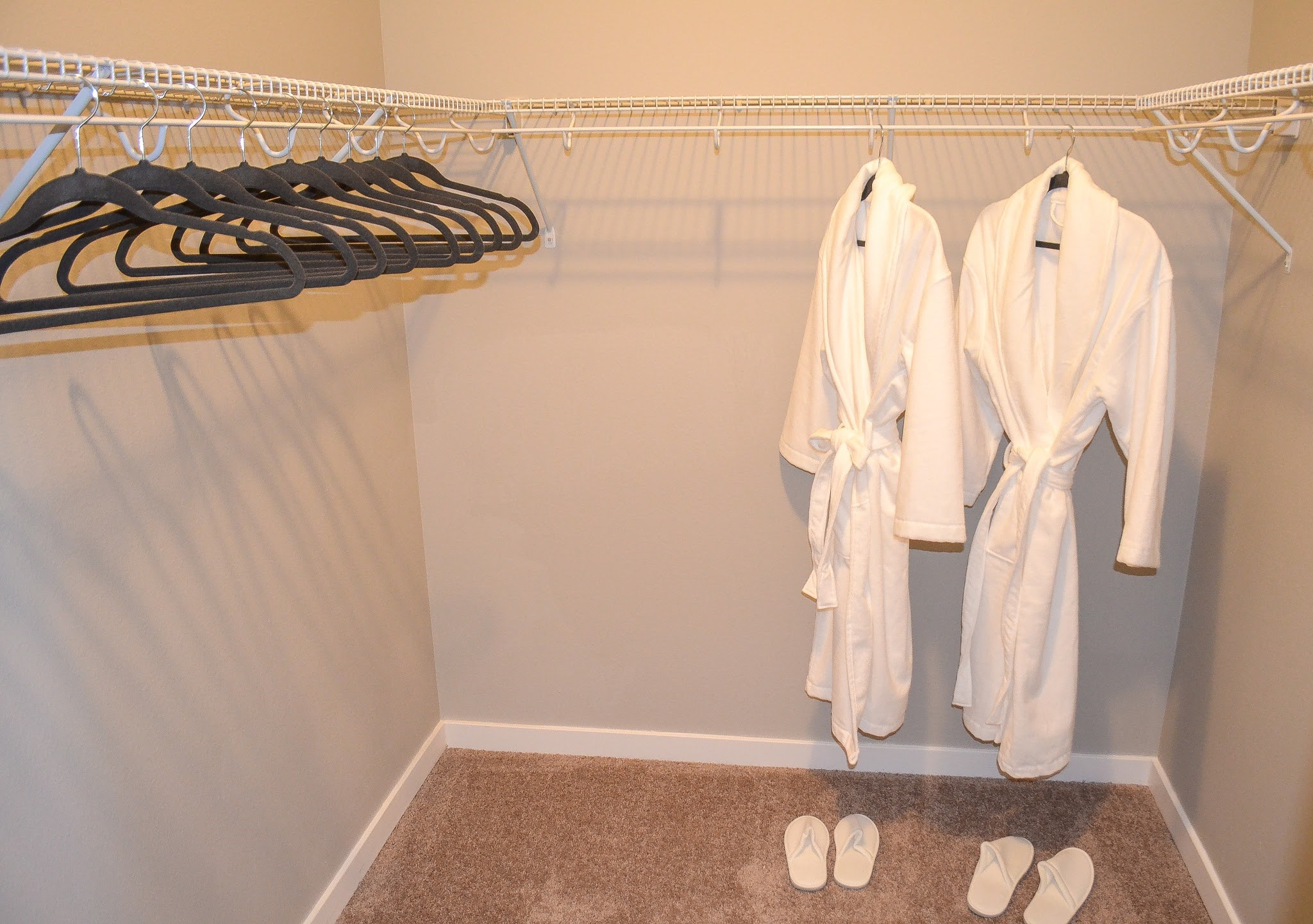 Walk-In Closet at Black Feather Apartments in Castle Rock, CO