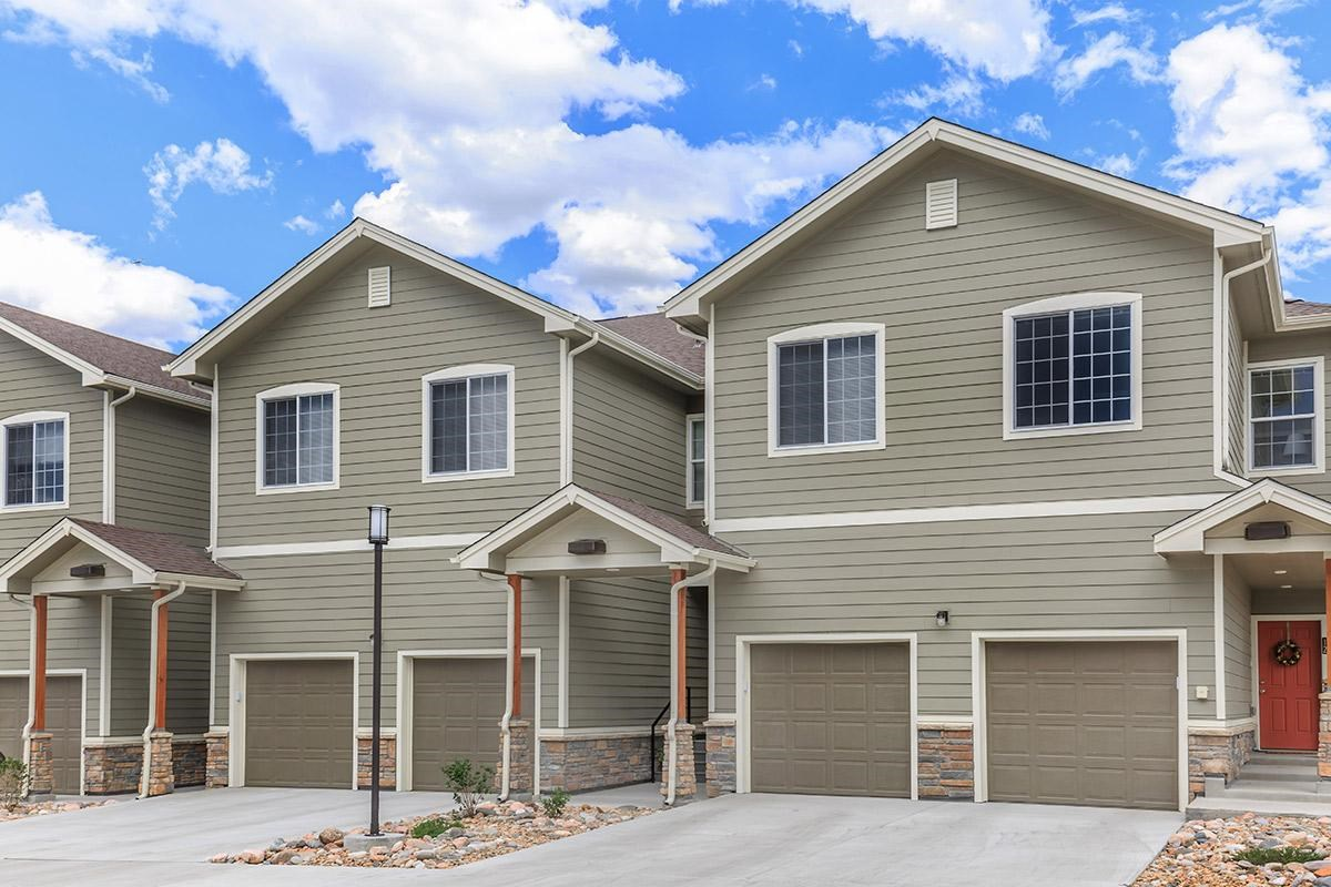 Attached Garages at Black Feather Apartments in Castle Rock, CO