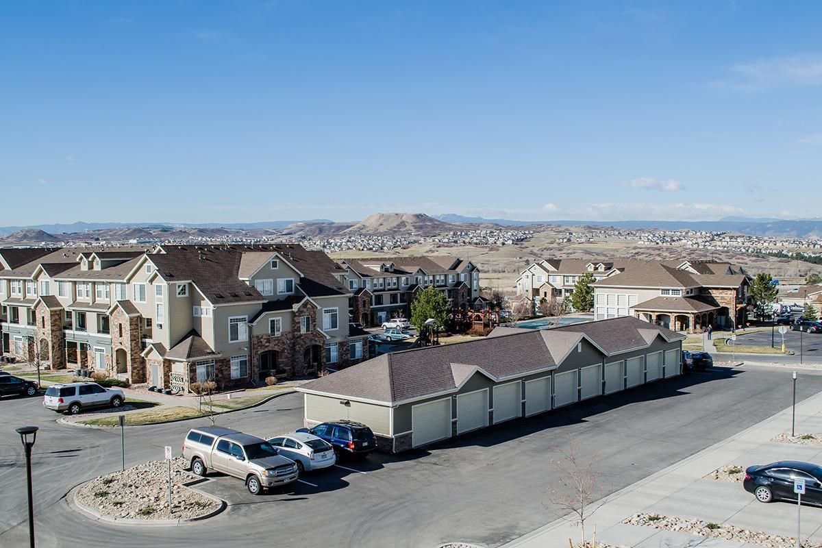Sweeping Views at Black Feather Apartments in Castle Rock, CO