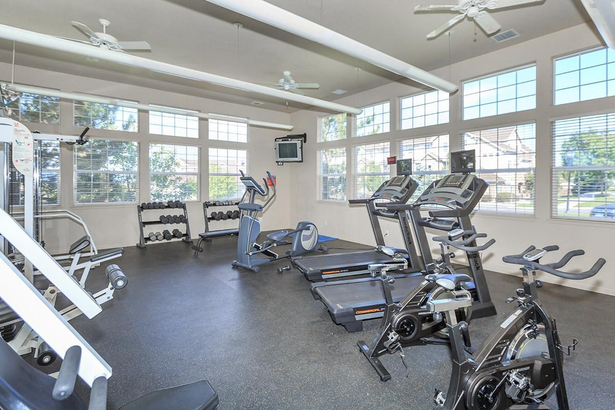 Fitness Center at Black Feather Apartments in Castle Rock, CO