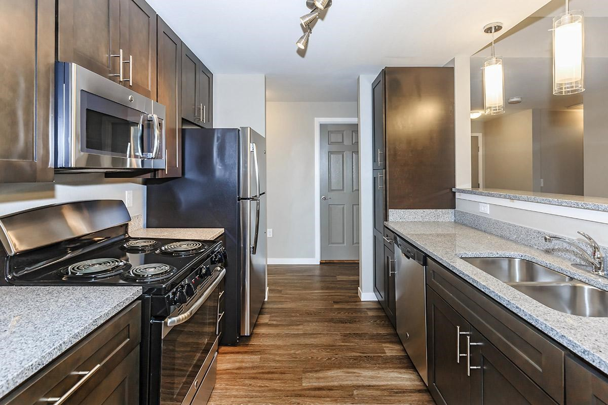 Kitchen at Black Feather Apartments in Castle Rock, CO