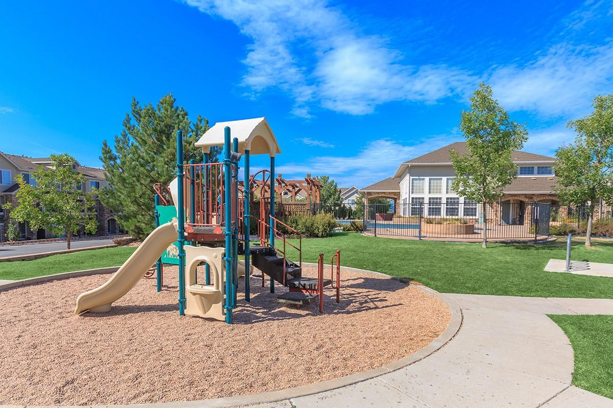 Playground at Black Feather Apartments in Castle Rock, CO