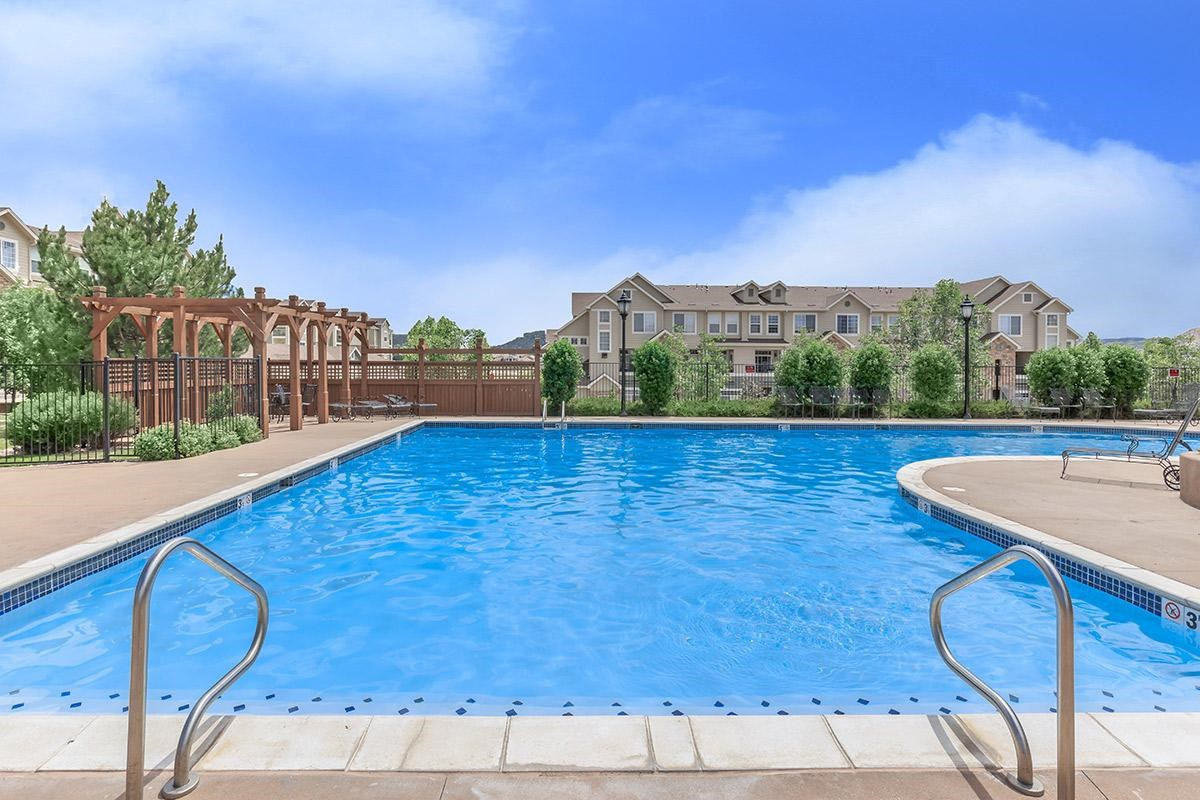 Swimming Pool at Black Feather Apartments in Castle Rock, CO