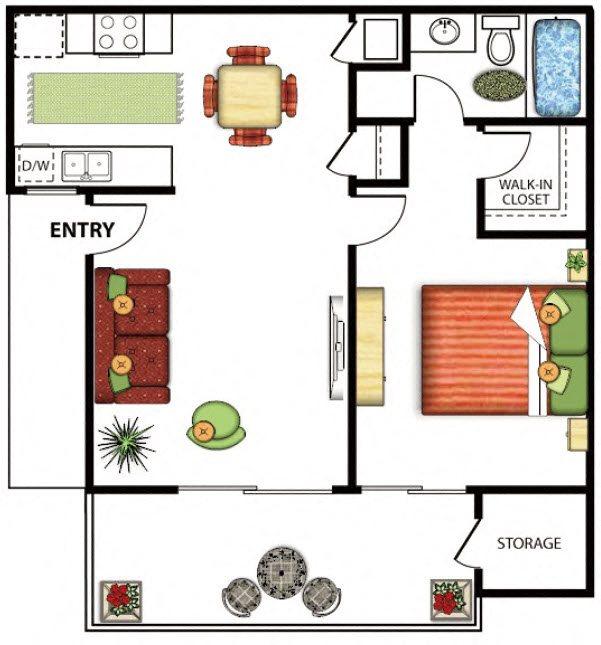 Apartments In Hemet California: Floor Plans Of Vista Gardens Apartments In Hemet, CA