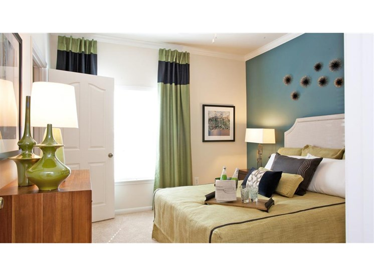 Spacious bedrooms with natural lighting at Indigo Pointe, 3030 Bardin Road, TX 75052