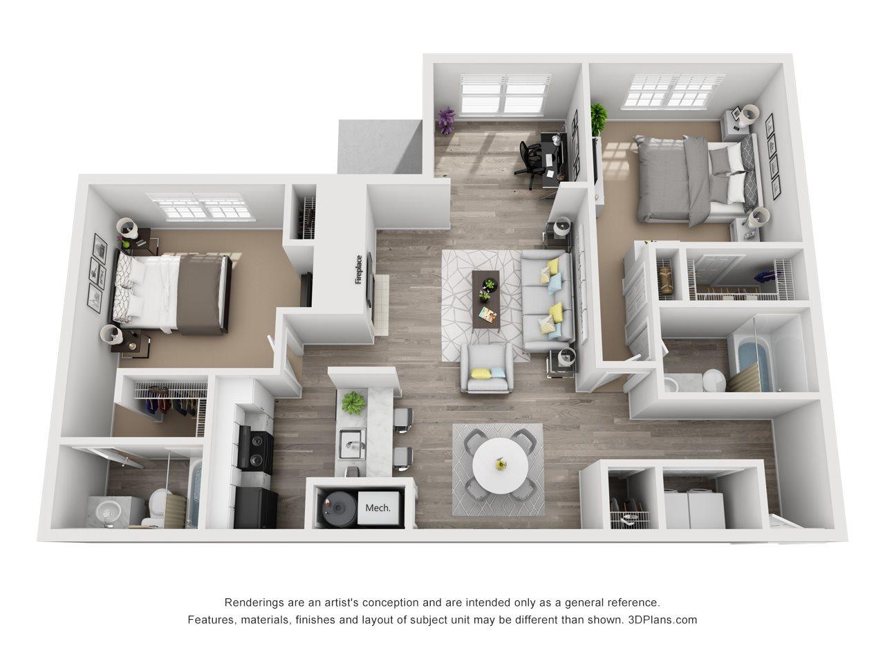 The Avalon Floor Plan 6
