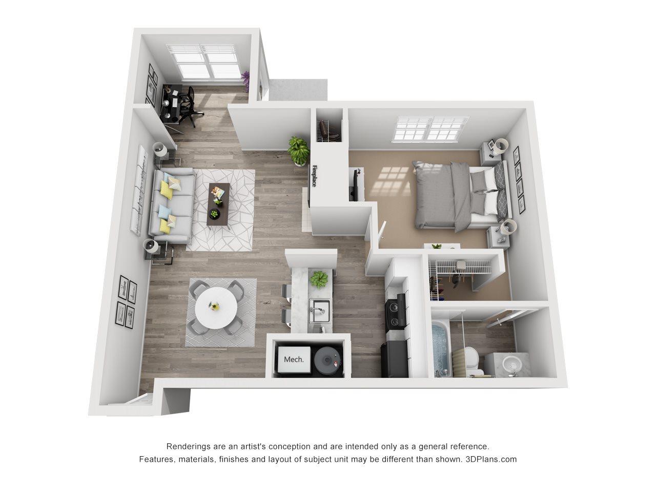 The Berkely Floor Plan 2