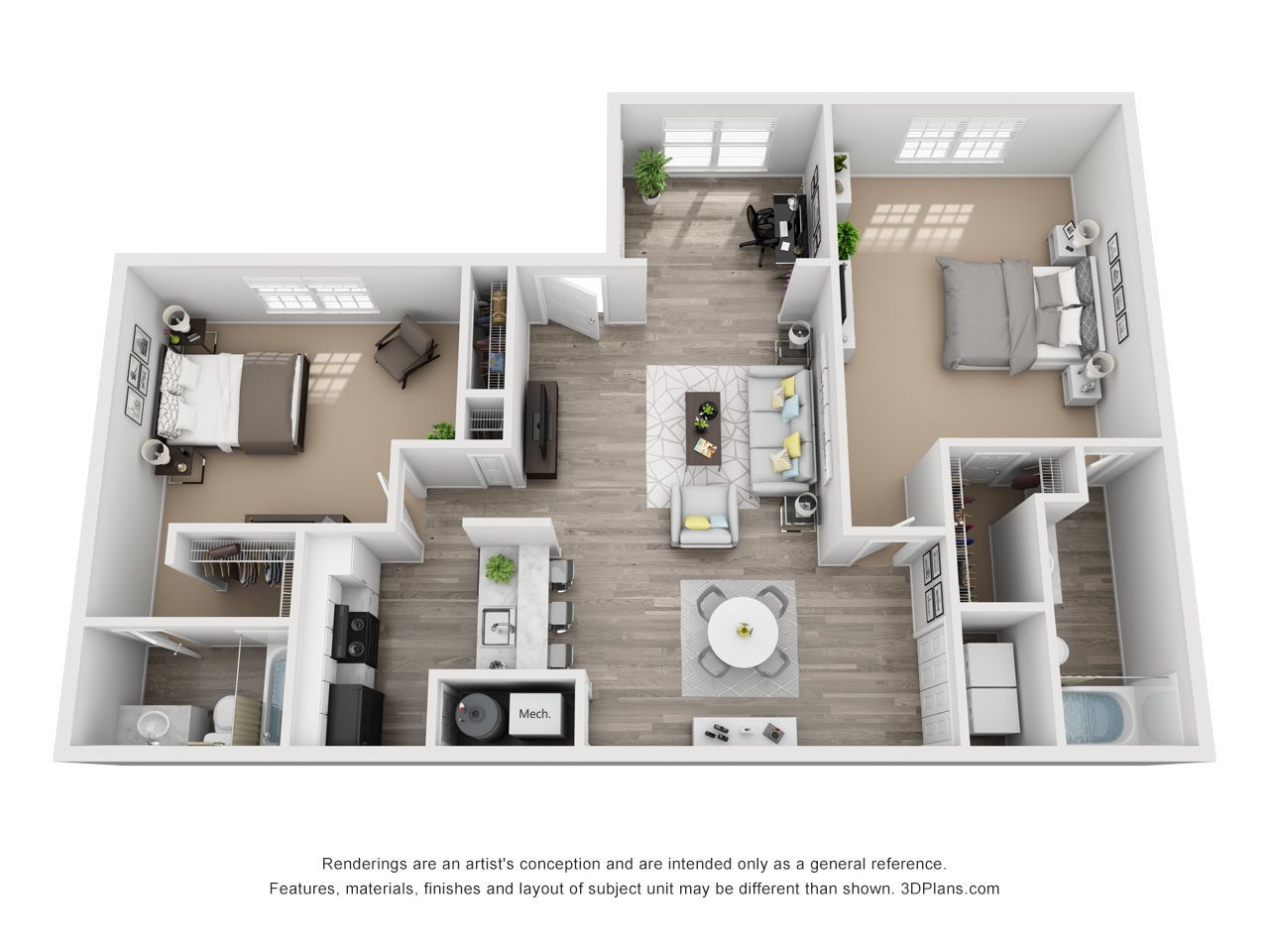The Lincoln Floor Plan 5