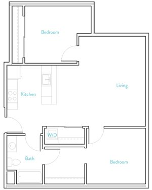 2 Bedroom A- Henshaw