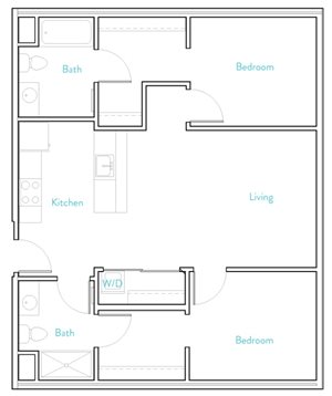 2 Bedroom B- Henshaw