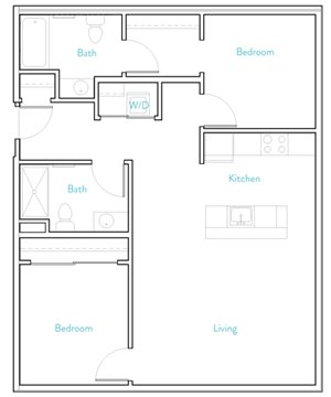 2 Bedroom C- Henshaw