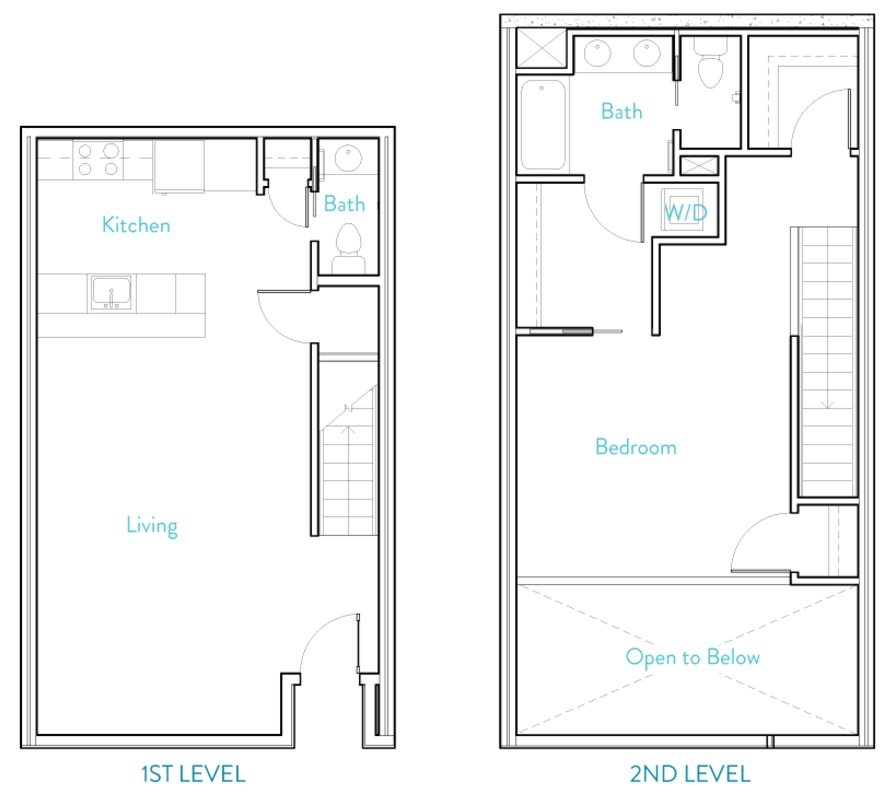 Townhome A Floor Plan 10