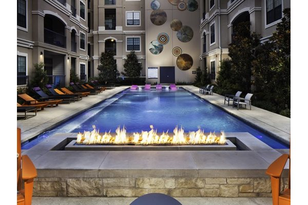 Beautiful Outside Fireside at Neo Midtown, 14151 Noel Rd, 75254