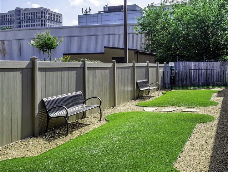 Dog Park at Neo Midtown Apartments in Dallas, TX