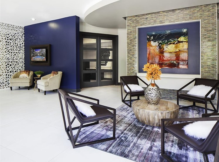 Leasing office at Neo Midtown Apartments in Dallas, TX
