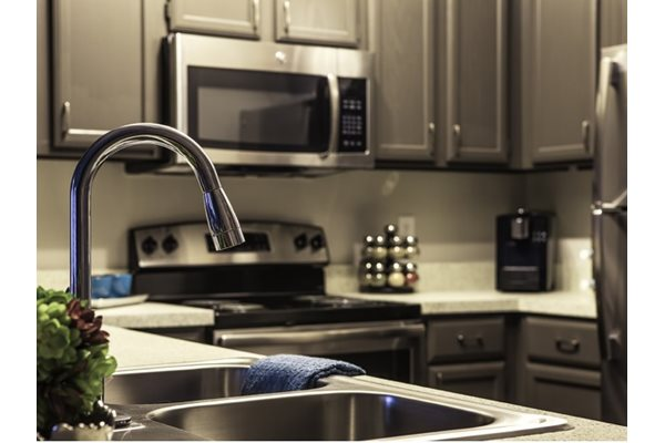 Gourmet Kitchens with Dishwasher and Disposal at Neo Midtown, 14151 Noel Rd, 75254