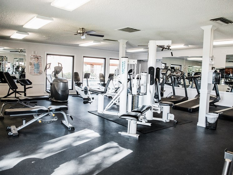 State of the Art Fitness Center at Cantera Apartments, Texas 79935
