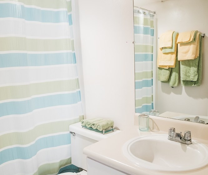 Spotless Bathroom at Cantera Apartments, El Paso, 79935