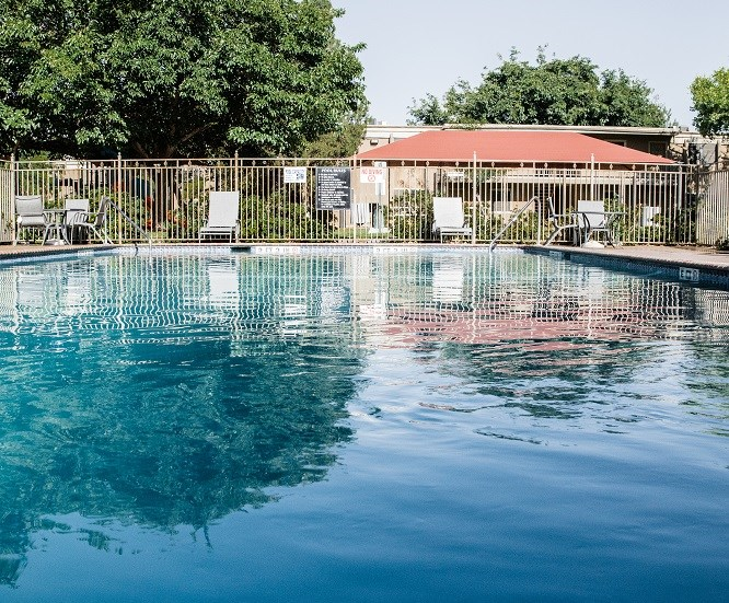 Beautiful Pool at Cantera Apartments, TX 79935