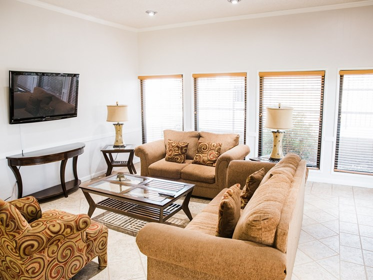Resident Clubhouse at Cantera Apartments El Paso, Texas