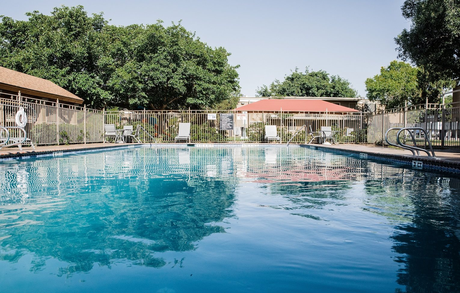 Shimmering pool at Cantera, Texas 79935