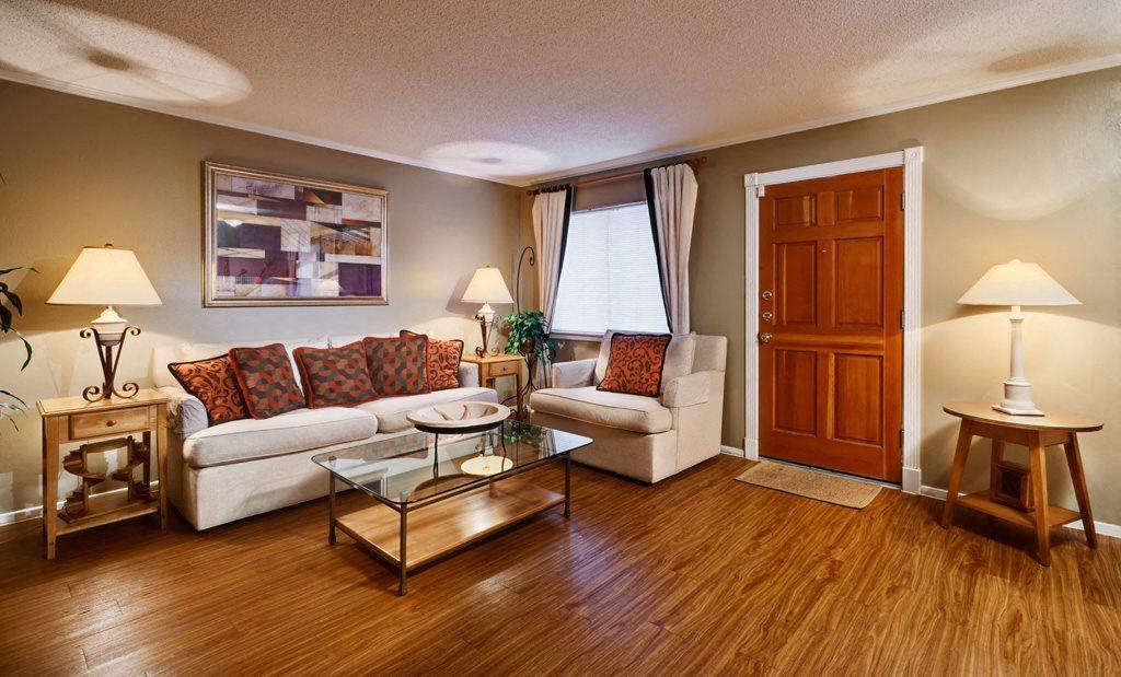 Resort Style Living Rooms at Juniper Springs A Concierge Community, Austin