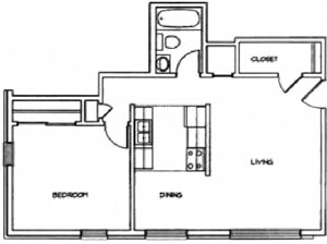 Small 1 bedroom