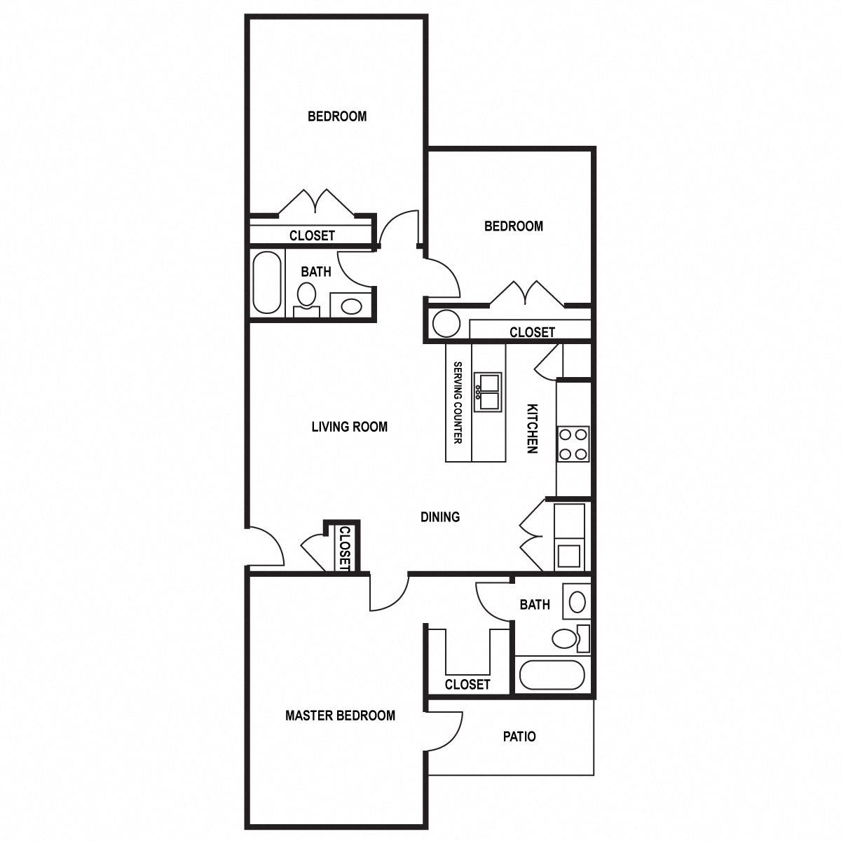 Floor Plans Of Clemmons Station In Clemmons, NC
