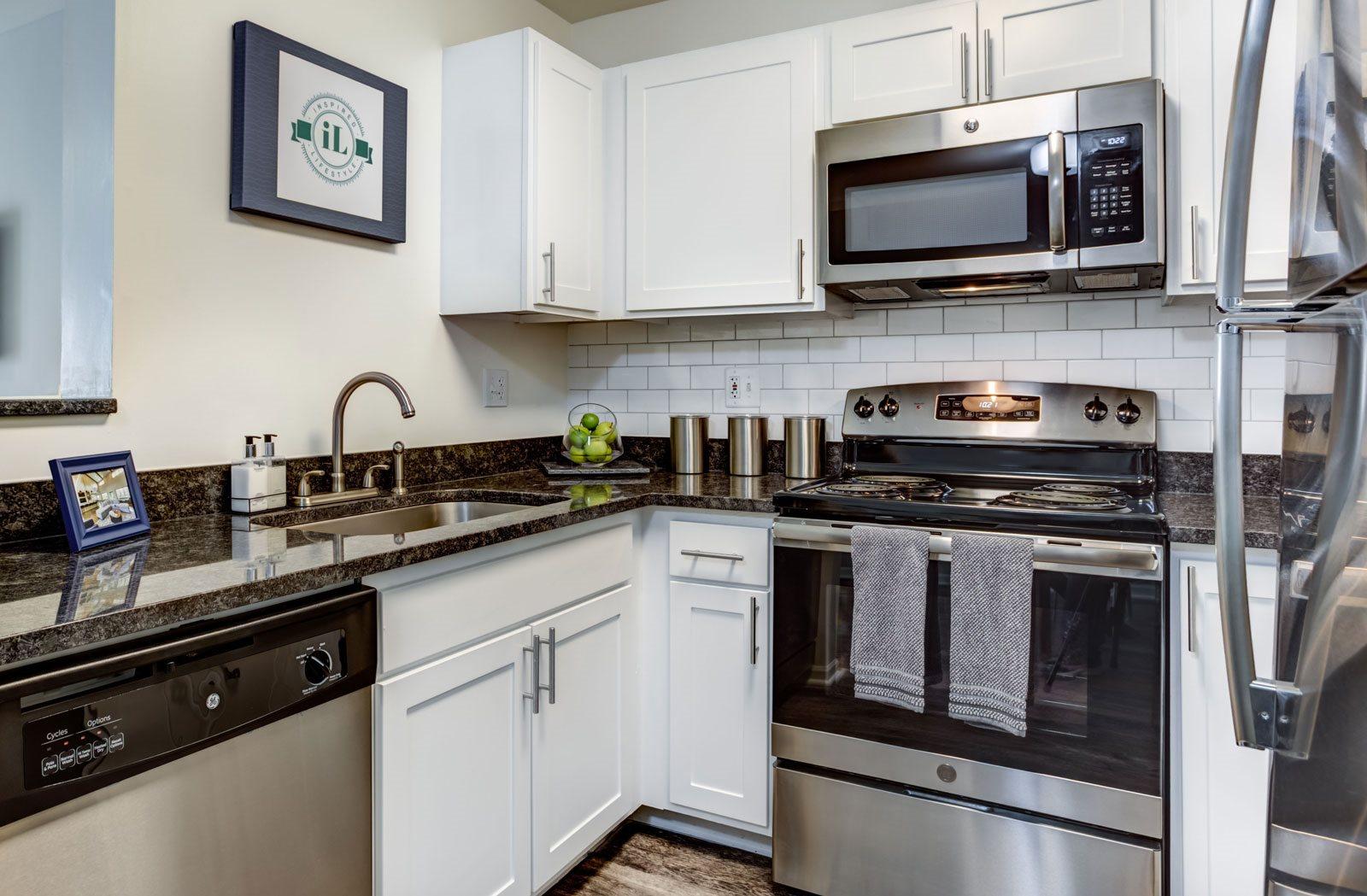 Updated Kitchen at Retreat at Danada Farms, Wheaton
