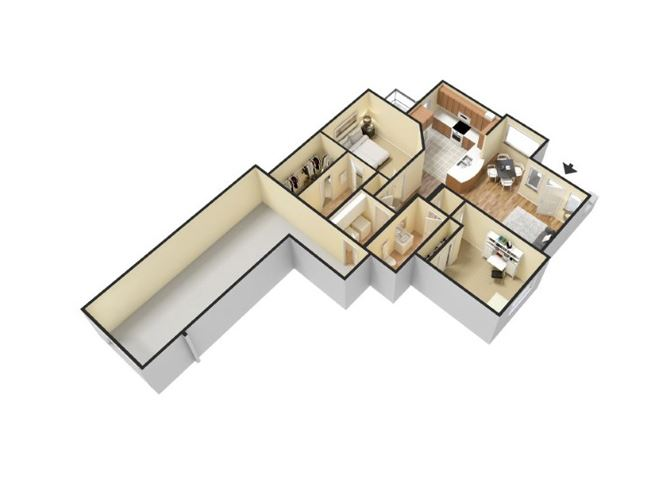 2x2 floor plan  Apartments for rent in Waco, Tx l Canyon Springs