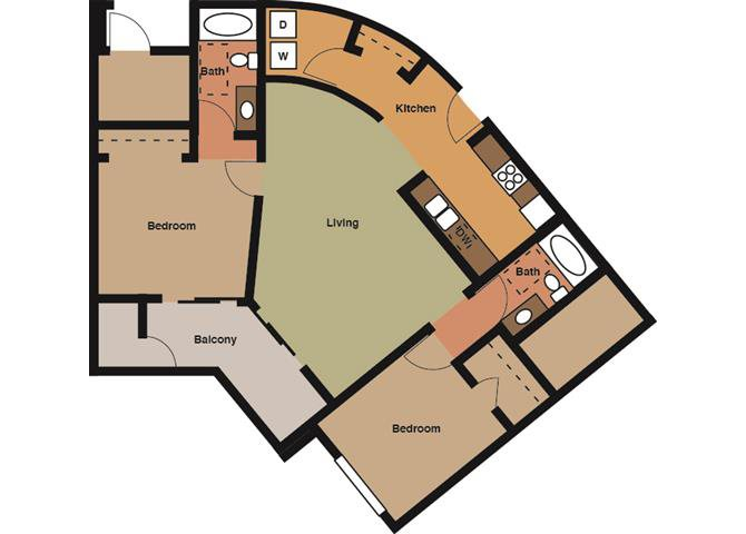 the Lancaster floor plan.