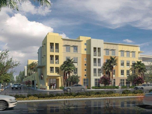 Exterior Building Rendering l Oceana Apartments in Huntington CA