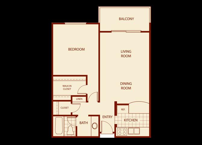 the Catalina floor plan.