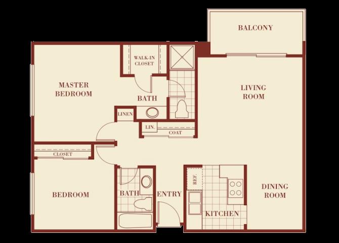 the Monterey floor plan.