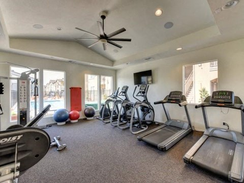 Chico, CA Apartments for Rent - Eaton Village Fitness Center
