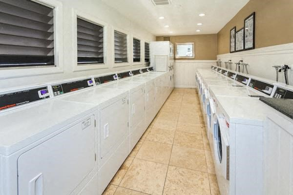2 -24 hour laundry rooms with text alerts