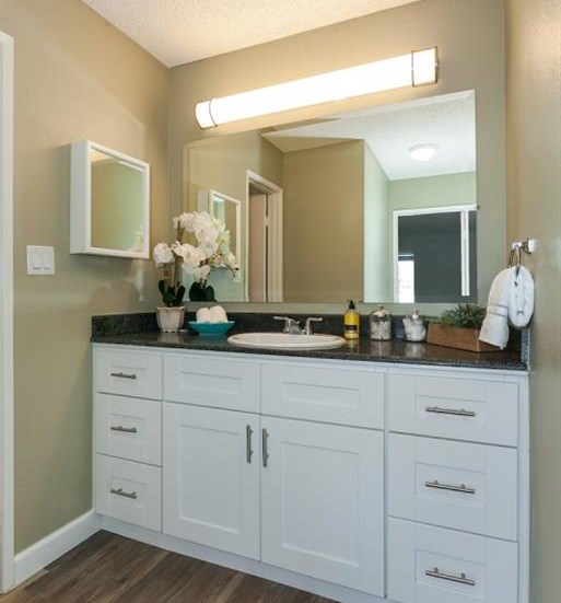 New Vanity with Granite Counter