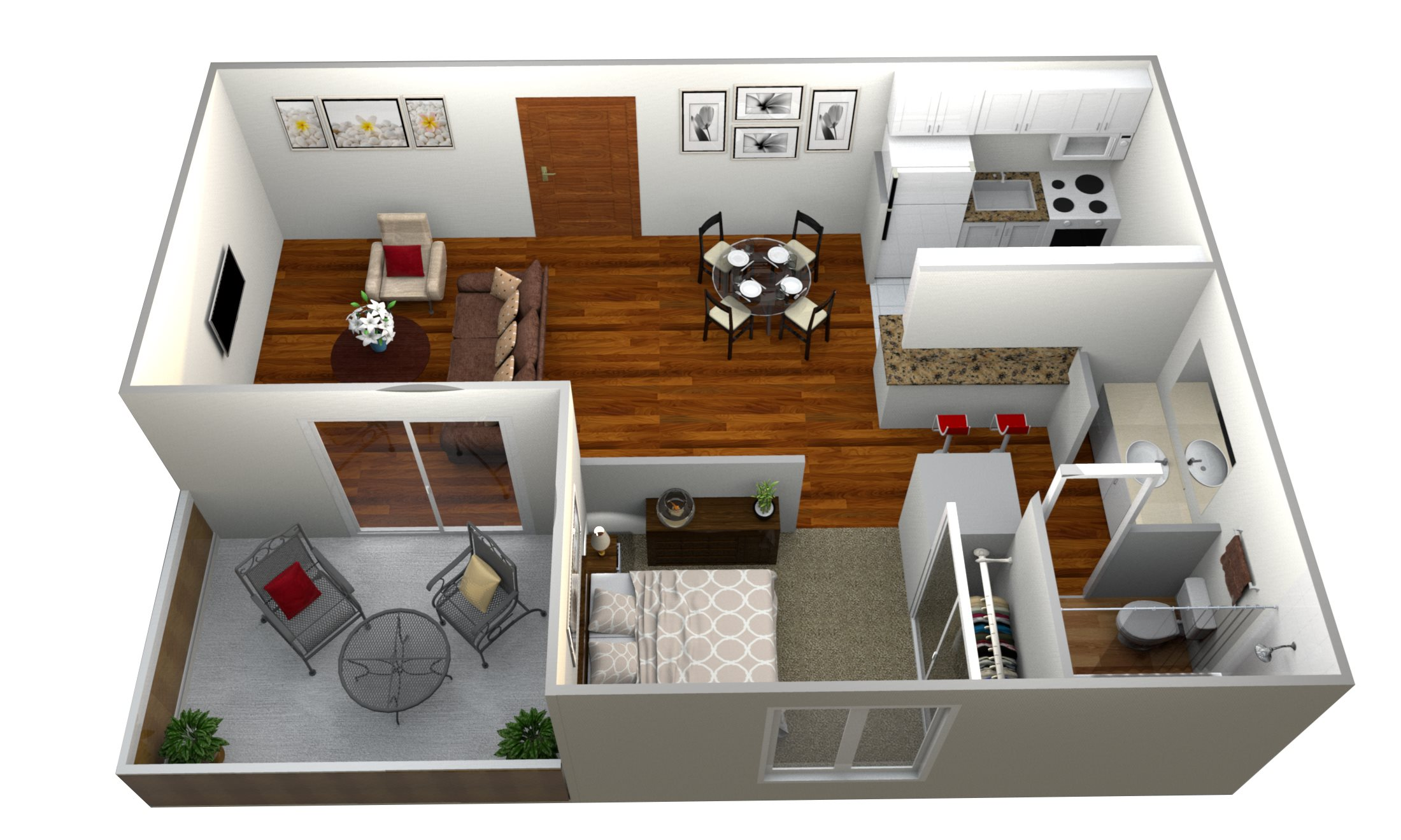 Cal Studio Floor Plan 2