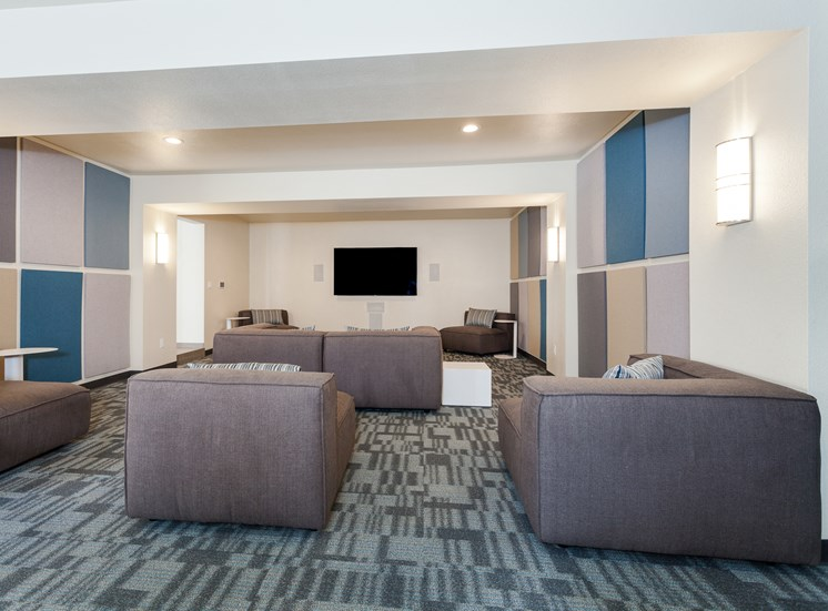 Cub CV Club House Theater Room. Great for Viewing or Gaming