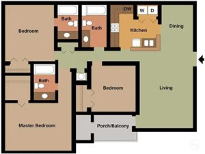 Three Bedroom Lg