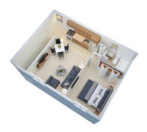 2nd Floor 450 SF