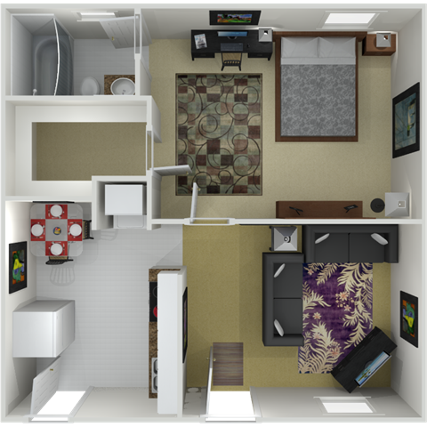 The Buckhead Floor Plan 2
