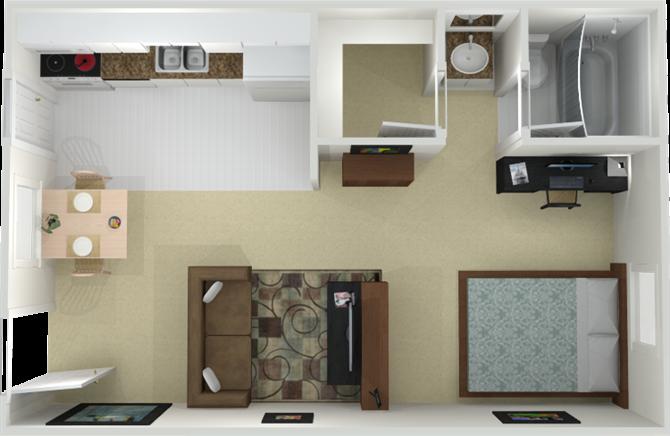 The Lenox Floor Plan 1