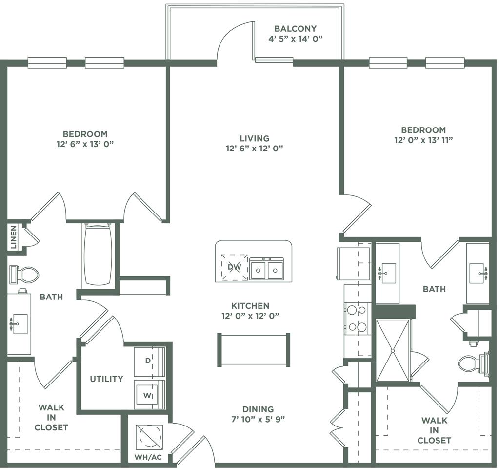The Baldwin Apartments: 1 & 2 Bedroom Apartments In San Antonio, TX